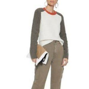Rag & Bone color Block sweater size L BNWT